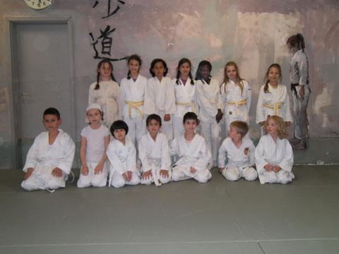 Unsere 5-10 Jahre alten Karate Kids
