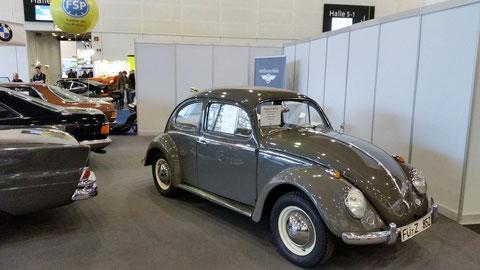 Unser 63'er Käfer, mit einer originalen Laufleistung von 37.000km.