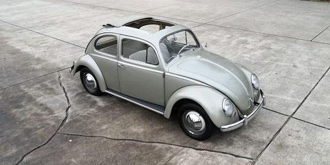 VW Käfer 1200 Export 1958  1. Hand  72.000km ungeschweißt