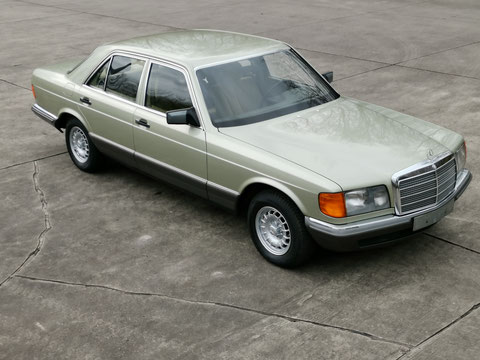 Mercedes 280SE 70tkm 2. Hand 1980 W126