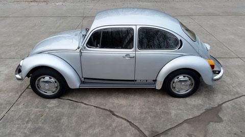 """VW Käfer 1200L Sondermodell """"Silver Bug"""" 1981 *VERKAUFT*"""