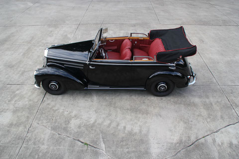 Mercedes 220 Cabriolet B W187 *VERKAUFT*