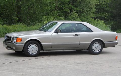 Mercedes 560 SEC C126 *VERKAUFT*