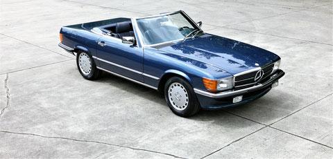 Mercedes 300SL R107 ungeschweißt, 1. Hand, *VERKAUFT*