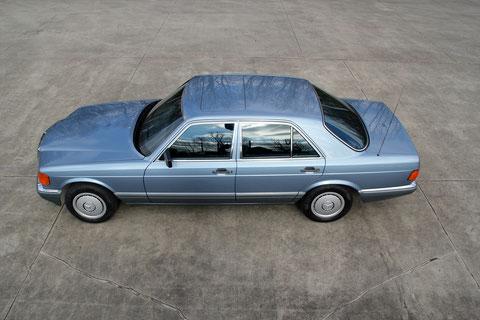 Mercedes 300SE W126 39.900km *VERKAUFT*