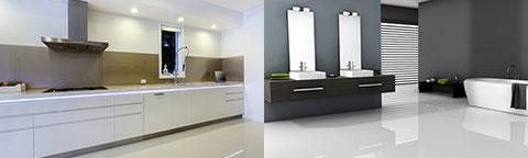 Möbel für Küche und Bad