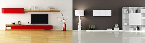 Individuelle Möbel für den Wohnbereich