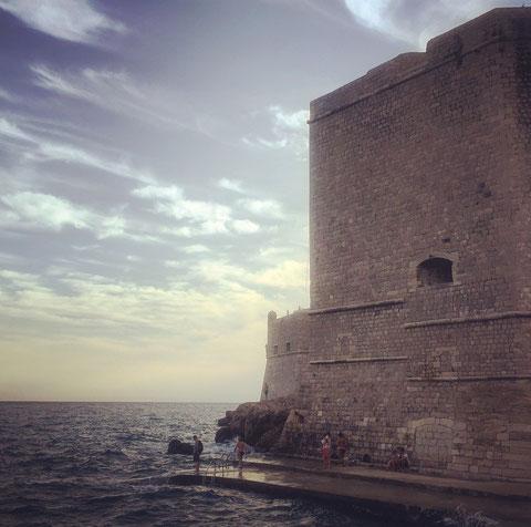 Dubrovnik. Ohne die anderen Touristen wär's schön.