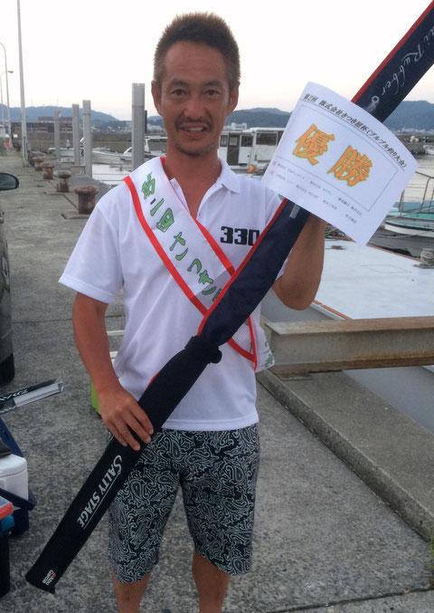 優勝者!! 口数も多いけど(≧◇≦) もってますね!!おめでとうございます(*^_^*)。