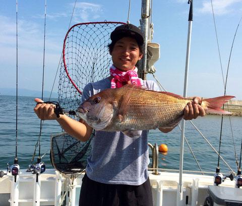 初タイラバ68cm(2Fish)!! おめでとうございます(*^_^*)