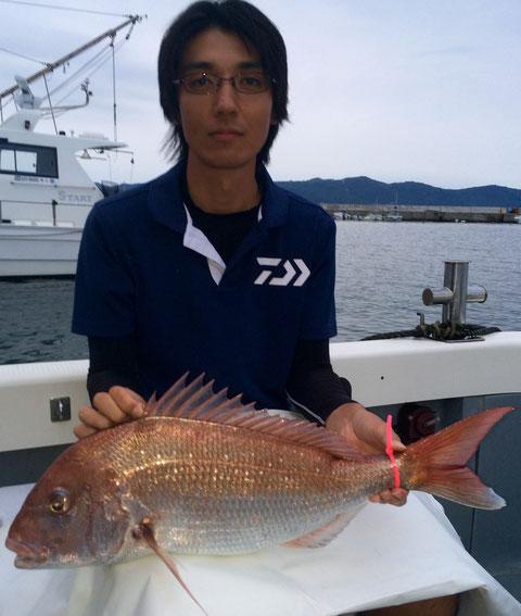 65.5㎝!暫定3位!&竿頭6fishおめでとうございます(*^_^*)。