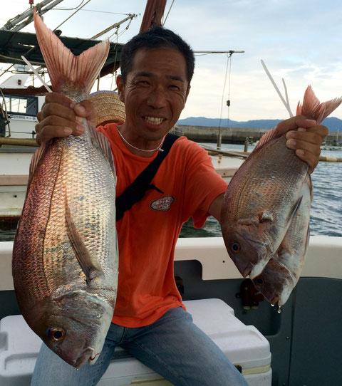 初タイラバ!良型含む3fish!おめでとうございます(*^_^*)。