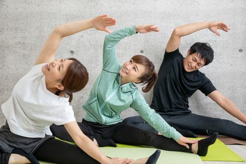 肩こり、腰痛、膝痛筋力トレーニング