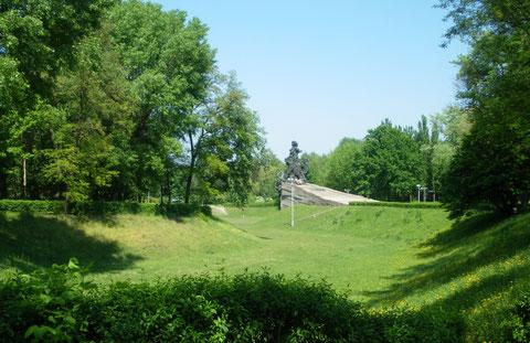 Schlucht und Denkmal Babyn Jar, Kiew, Mai 2009