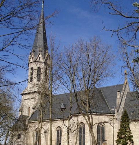 Die Christuskirche von Süden