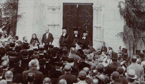 Einweihung der Christuskirche am 24. Juni 1901