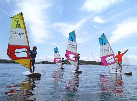 スクール1スクール画像1 ウインドサーフィン始めるなら神奈川県横浜市金沢区 海の公園のスピードウォール