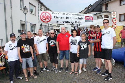 Auch in diesem Jahr veranstaltete der EFC Merenberg wieder das alljährliche Brunnenfest. Unmittelbar nach dem Pokalsieg, gab es diesmal erst recht was zu feiern.