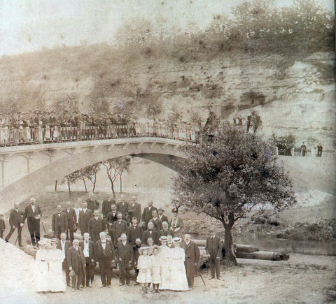 Eröffnung der Brücke am 24.05.1907