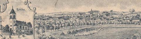 Ortsansicht um 1902
