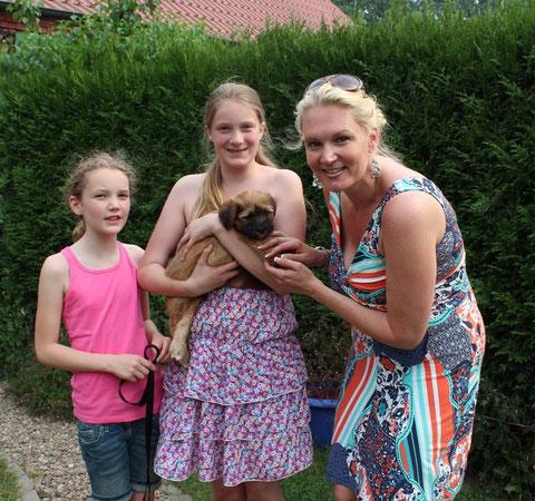 Friedwart bereichert das Leben von Luna, Marlene und Nicole nebst Papa in Oberhausen