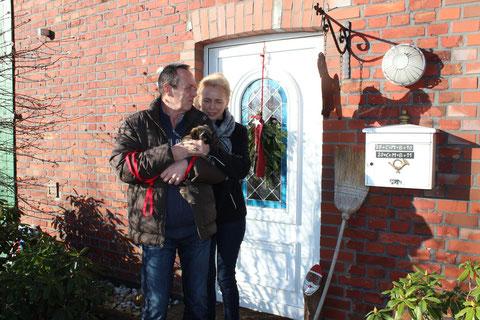 Mayla lebt mit Susanne und Stefan in Dortmund
