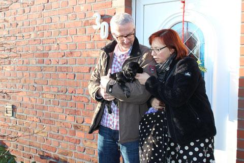 Mala lebt mit Delia, Erich und den Kindern in Wanne