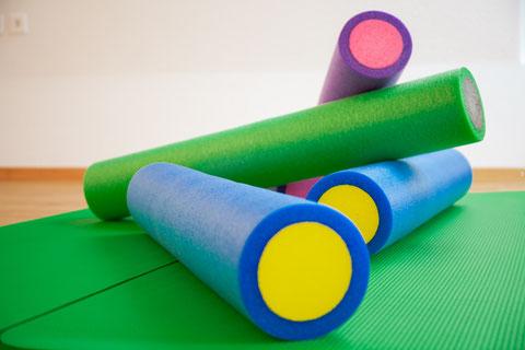 Pilatesrolle; Tiefenmuskulatur; Pilates; Myofasziales_Training; Pilates-Studio-Erika.ch