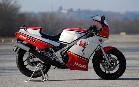 TAMIYA 14037  BECOMES  YAMAHA RD 500