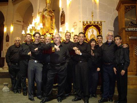 Concierto en honor al Patrón de Alicante, celebrado en la concatedral de San Nicolas el 05-12-2011.