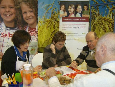 Nachmittagsprogramm  auf der Grünen Woche 2009