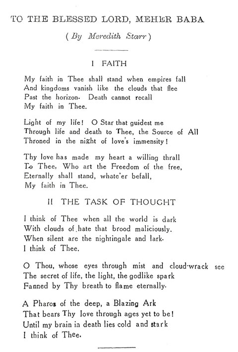 Courtesy of Meher Message magazine ; Vol.1 - No.11 - 1929 - p.21