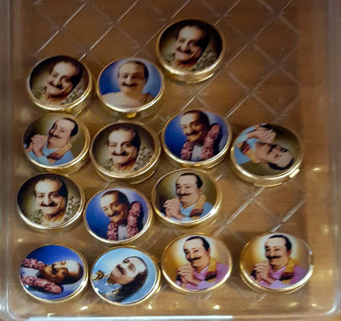 Button badges ; Courtesy of Sheriar Books