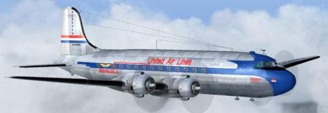 "Douglas DC-4 "" Mainliner """