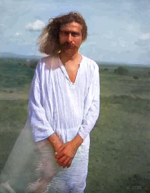 1930 : Image colourized by Anthony Zois.