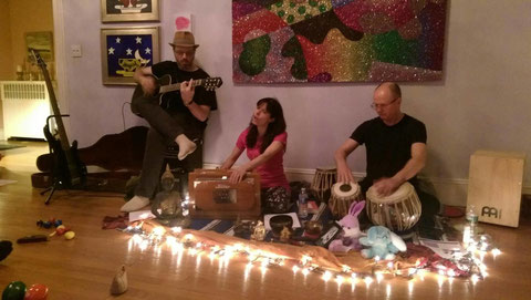 Sonic Bliss Kirtan performing