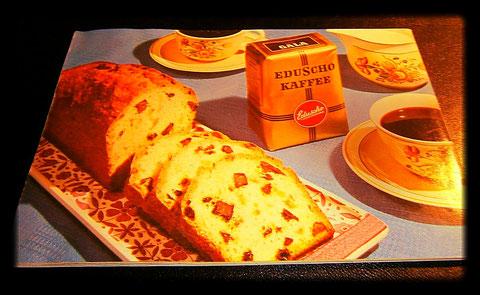 Köstliches aus und mit Eduscho 1960
