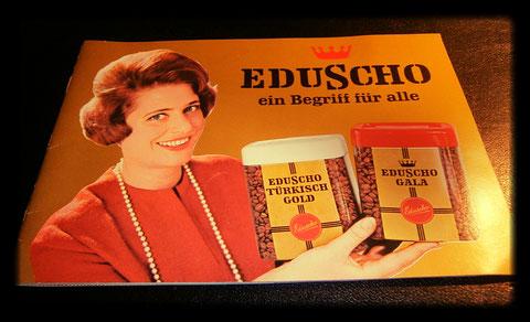 """Eduscho """"Ein Begriff für alle"""" 1960"""