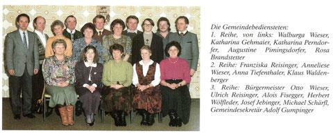 Gemeindebedienstete 1990