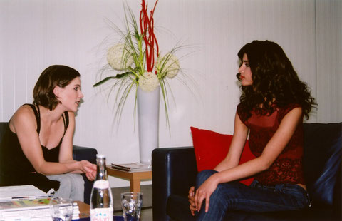 Sandra and Micaela Schäfer