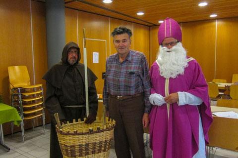 Sieger des St. Nikolaus Preisjasset 2014 ist ebenfalls Otto Fenk