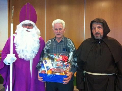 Hans Berchtold ist Sieger des St. Nikolaus Preisjasset 2013
