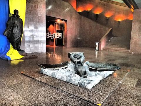 'Sieg gegen den Faschismus': Im Museum des großen patriotischen Krieges in Kiew