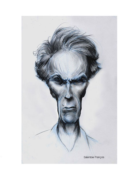 dessins-caricature-clint-eastwood-salembier-francois
