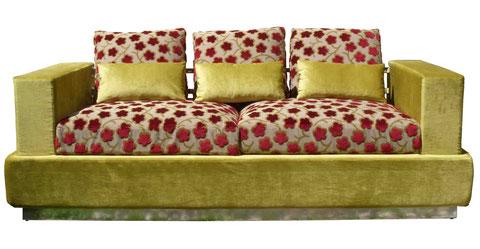 STEEL divano design
