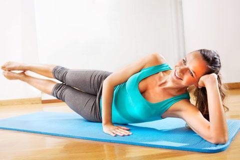 Pilates, perfekt für eine schlanke Figur.