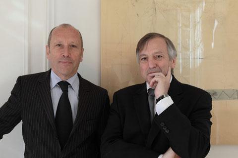 Bernard Boyer et Bernard Le Scour