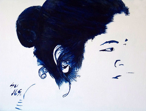 *Blau auf Weiß* Januar 2011
