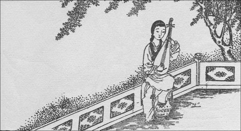 Poème pour la femme Syu Thong-khing, traduit par tsen Tsonming (Anciens poèmes chinois d'auteurs inconnus)