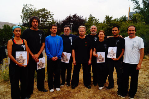 Instructores Taijiquan Cxwta Chile actual WCTA Chile